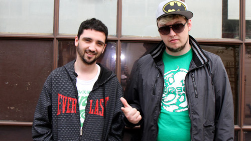 MistaJam 2011-05-21 Flux Pavilion sits in and Circus Records showcase with Doctor P