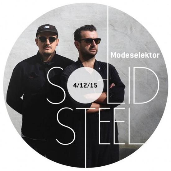 Modeselektor + Benjamin Damage - Solid Steel Show 2015-12-04