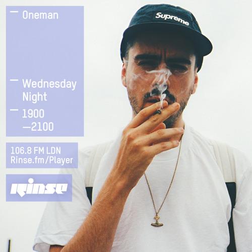 Oneman on Rinse FM 2015-07-08