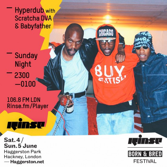 Scratcha DVA & Babyfather - Hyperdub show on Rinse FM 2016-04-10