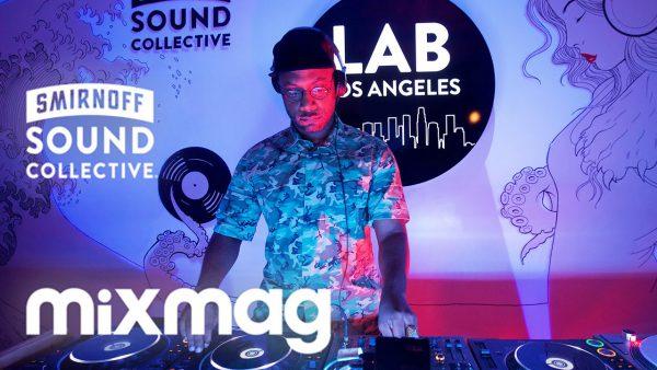 Seven Davis Jr. in The Mixmag Lab LA 2016-08-05