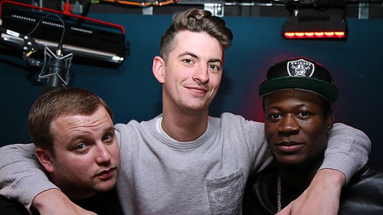 Skream and Benga 2013-05-03 Caspa in the studio!