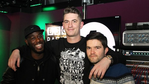 Skream and Benga 2014-02-14 Plastician co-host and T.Williams