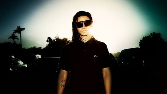 Skrillex live at Glastonbury Festival 2014, United Kingdom 2014-06-27