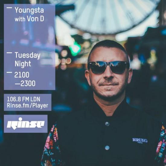 Youngsta on Rinse FM 2015-10-20 with Von D