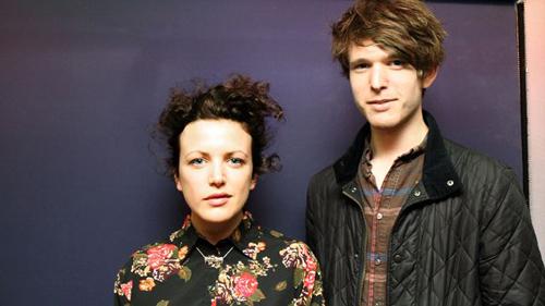 Annie Mac and James Blake